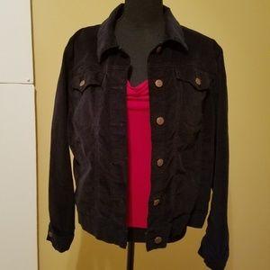 EUC Jockey Velvet Lightweight Jacket Black